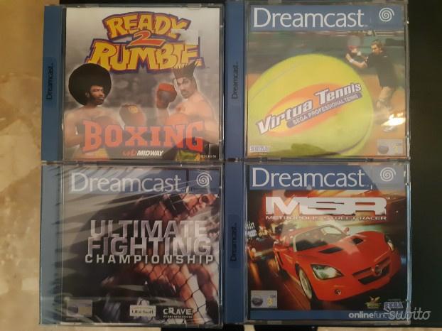 Lotto giochi dreamcast