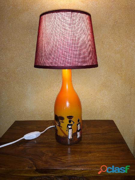 lampade artigianale dipinta a mano