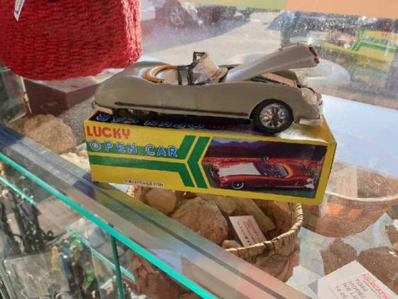 Modellino friction drive lucky open car