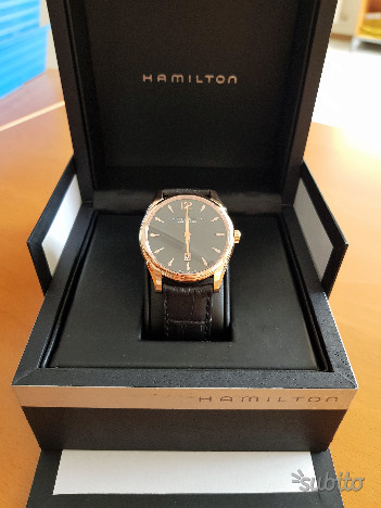 Orologio Hamilton Jazzmaster Slim Oro rosa