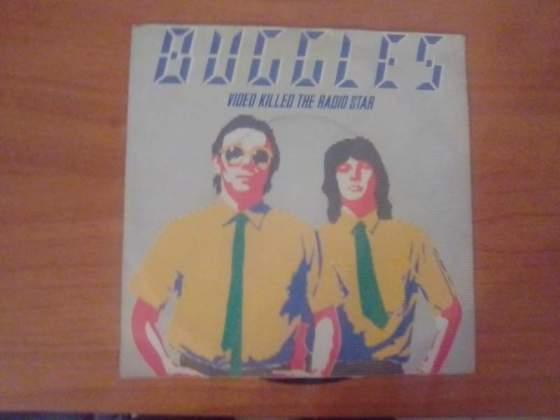 The Buggles video killed the radio star 45 giri come nuovo