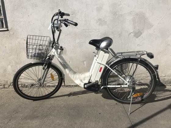 Bicicletta Elettrica Ztech Colore Satinato Grigio Posot Class