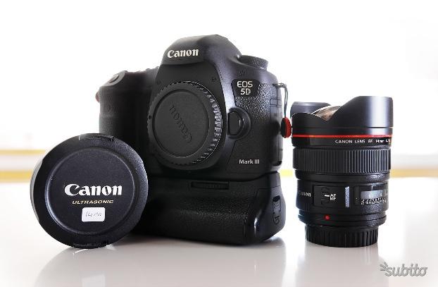 Canon 5D Mark III (+ BG) + EF 14mm f/2.8 L USM II