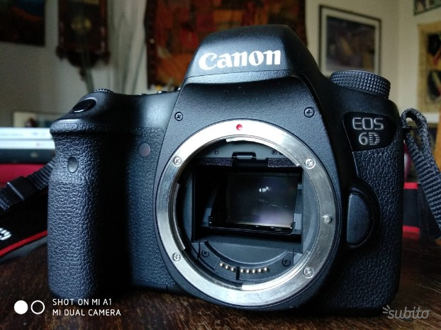 Canon EOS 6D body corpo
