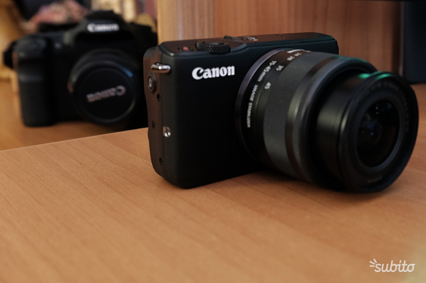 Canon Eos Mmm + Adattatore Ottiche EF