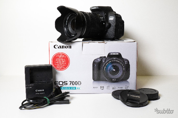 Canon eos 700d + ef-s mm f is stm