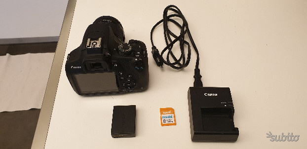 Canon eos d + obbiettivo Canon