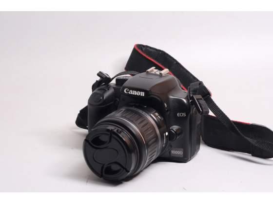 Fotocamera digitale reflex canon eos d + .
