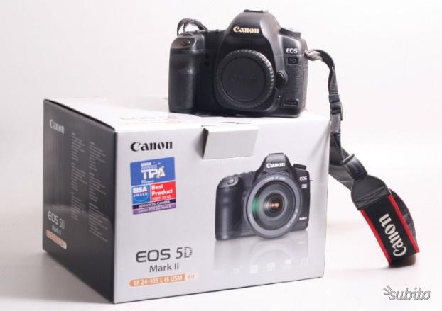 Fotocamera digitale reflex f.f. canon eos 5d mk ii