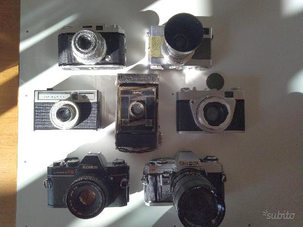 Lotto KM7: macchine fotografiche da collezione