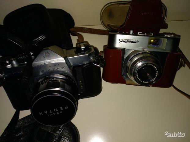 Macchine fotografiche anni 60