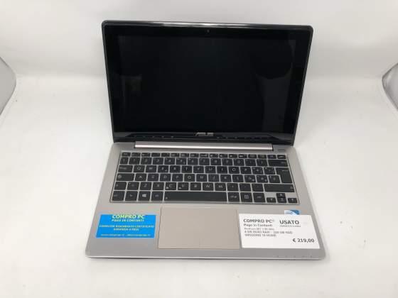 Notebook Asus S200e Pentium M - Pentium 987 RAM: 4 Gb Ddr3