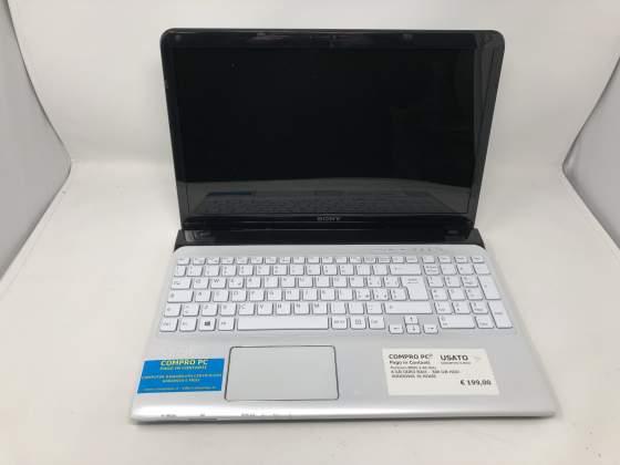 Notebook Sony Sve151j11m Pentium M - Pentium B980 RAM: 4 Gb