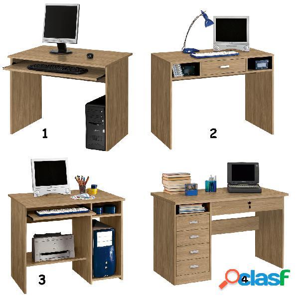 Porta pc scrivania mondo convenienza noce chiaro posot class for Mondo convenienza scrivanie porta pc