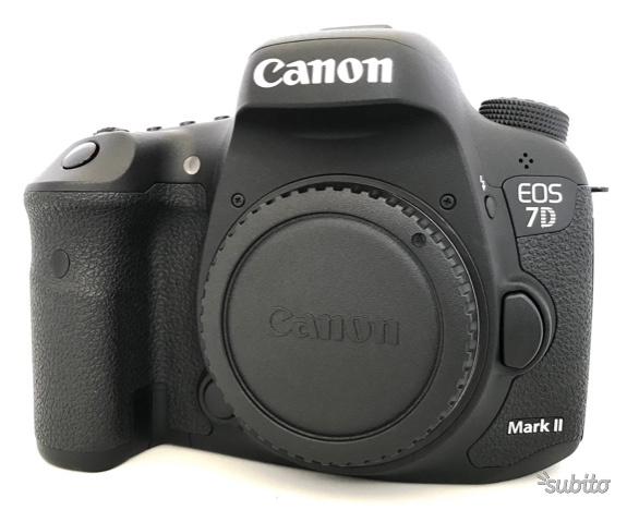 Reflex Canon EOS 7D Mark II (G) Fotocamera digital