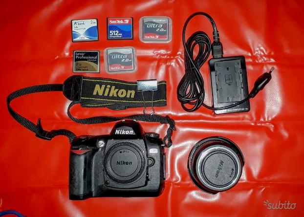 Reflex digitale Nikon D70 NITAL obiettivo mm