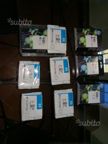 Cartucce hp 940 colori assortiti nuove sigillate