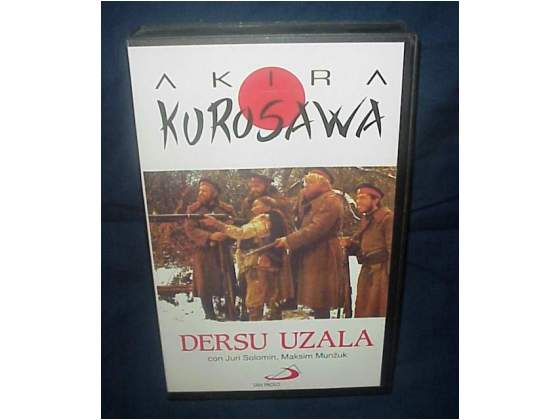 DERSU UZALA Akira Kurosawa film vhs videocassetta ex nolo
