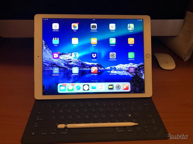 Ipad Pro 12,9 cellular 128 g pencil tastiera Apple