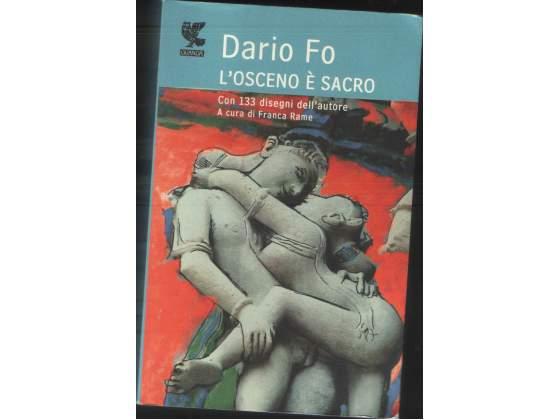 L'osceno è sacro, Dario Fo, Guanda