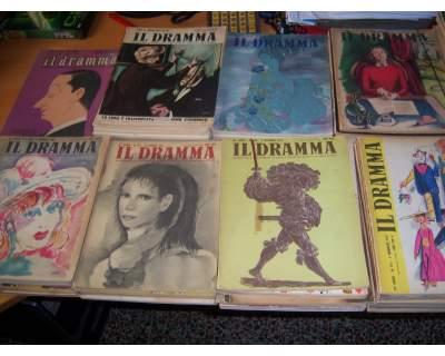 """N. 84 numeri della rivista """" il dramma """""""