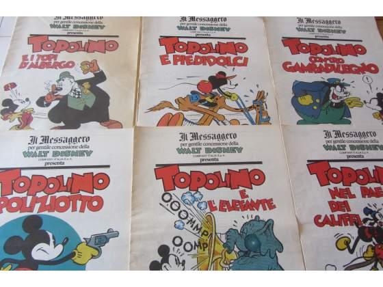 Topolino- Walt Disney- Il Messaggero