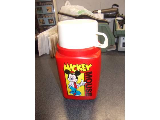 Thermos di topolino walt disney anni 80 made in england