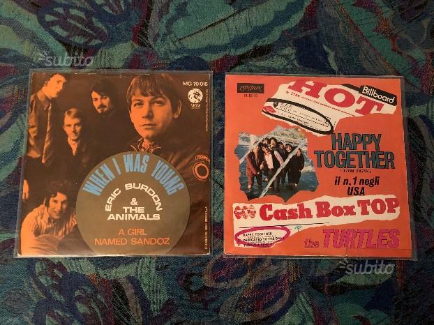 2 dischi 45 giri