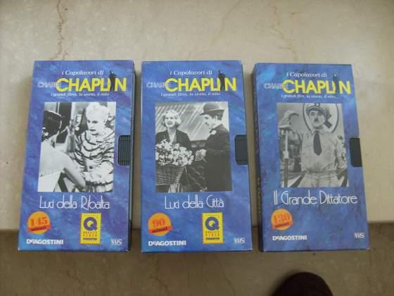 27 Videocassette film di Charlie Chaplin