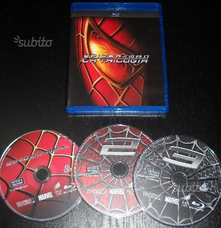 Blu Ray Spider-Man - La trilogia ORIGINALI