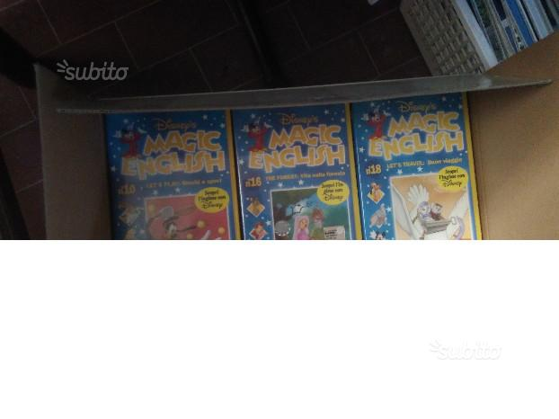 Collezione 20 numeri vhs magic english