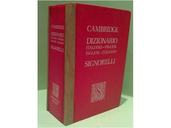 Dizionario italiano inglese signorelli