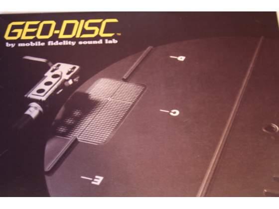 GEO DISC OMR MFSL disco dima giradischi