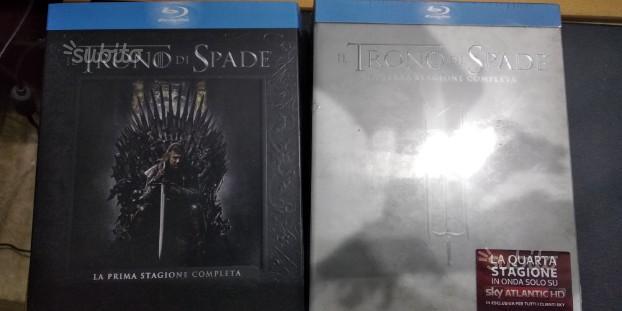 Il Trono Di Spade 1 e 3 Cofanetti Digipack Blu Ray