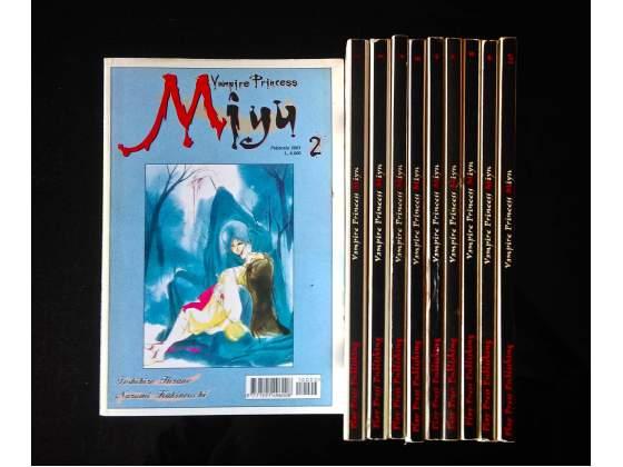 MIYU - Manga serie completa 20 euro!