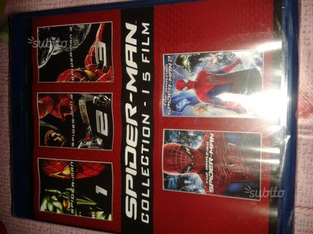 Spider Man collection 5 film blu ray