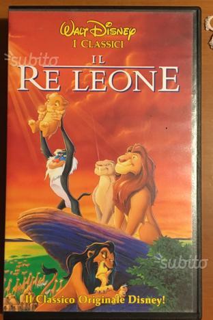 Vhs cartone il leone anni 90