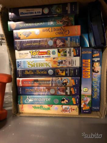 Videocassette VHS originali