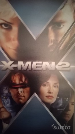 X men 2 - vhs originale anni '90
