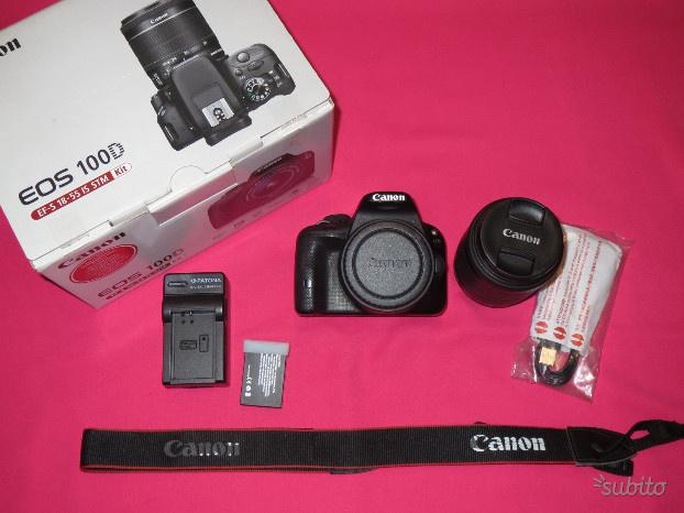 Canon EOS 100D Kit Obiettivo