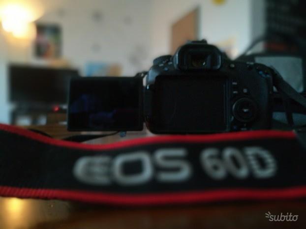 Canon EOS 60D obiettivo Canon mm stabilizer
