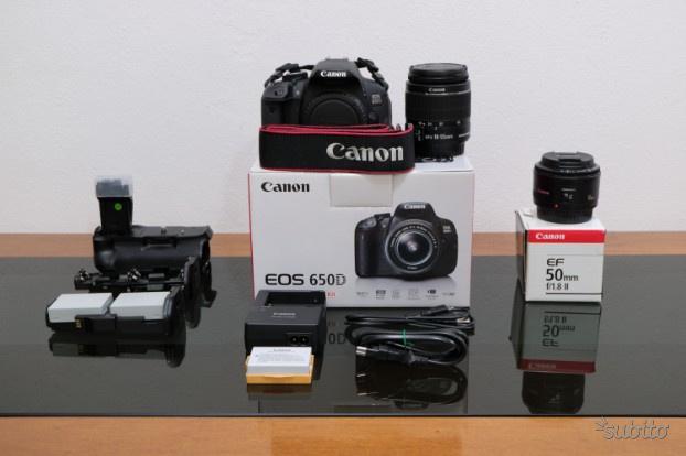 Canon EOS 650D, Canon EF 50mm f1.8