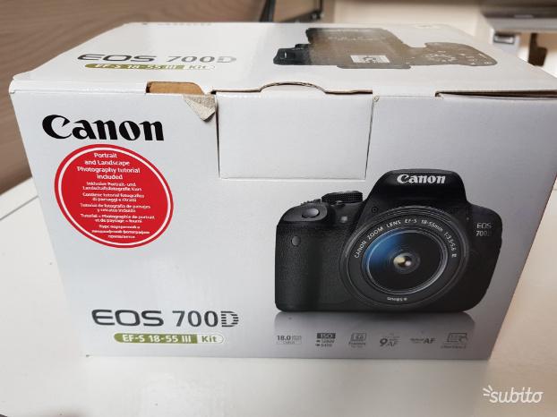 Canon EOS 700d + obbiettivo Tamron AFmm