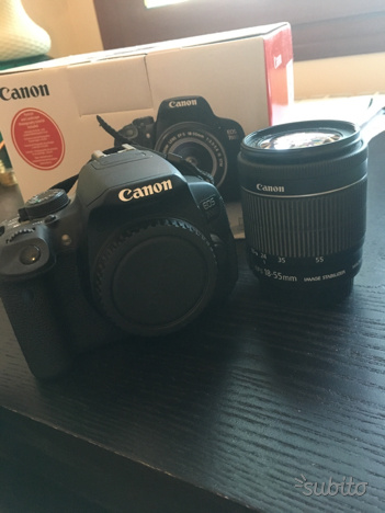 Canon Reflex EOS 700D + EF-S  IS STM