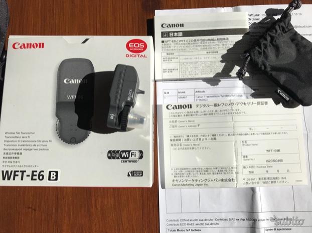 Canon Wireless File Transmitter WFT-E6 B