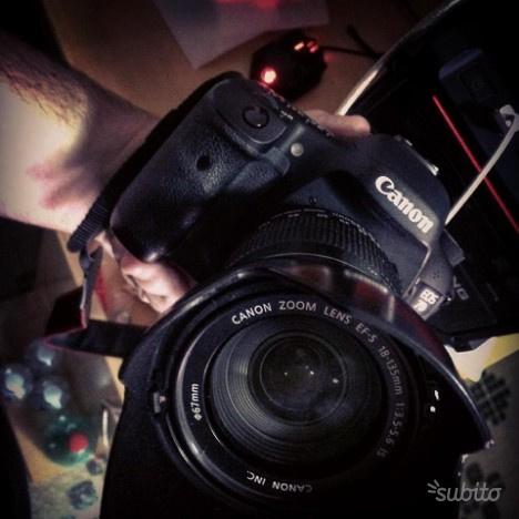 Canon eos 7D + mm