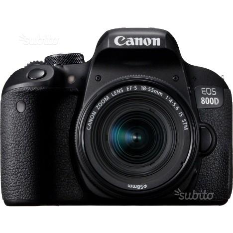 Canon eos 800d + is stm nuovo