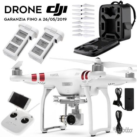 Drone dji Phantom 3 Standard + accessori GARANZIA