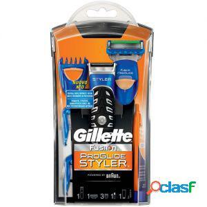 Gillette fusion rasoio da barba manuale a batteria proglide