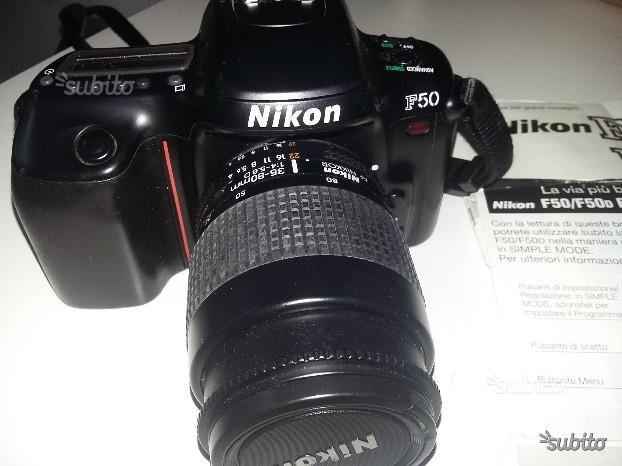 Nikon F50 - Obbiettivo mm f/4-5.6D